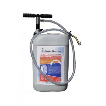 Gel anti crevaison Wheelsecure Quality 25L + Pompe