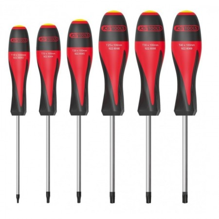 Jeu de 6 Tournevis ULTIMATE TORX